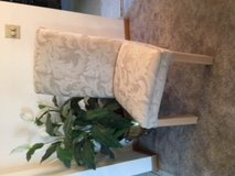 Two Gorgeous Cream Colored Side Chairs in Tinley Park, Illinois