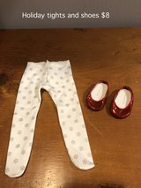 American Girl Ruby Shoes and Holiday tights in Aurora, Illinois