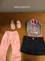 "18"" Doll Jean Outfit with Shoes in Aurora, Illinois"