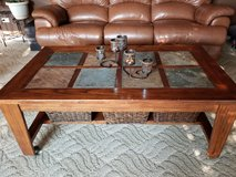 Coffee table and matching end table in Aurora, Illinois