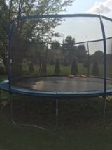 15 ft round trampoline with enclosure in Lockport, Illinois