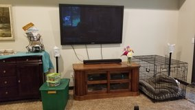 3D TV with 4- 3D glasses and blue ray player in Fort Lewis, Washington
