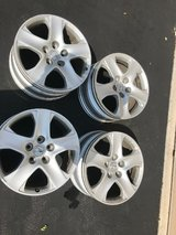 Set of 4 USED Acura 17X8 RL Aluminum wheel/ rims in Colorado Springs, Colorado