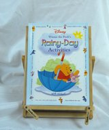 Disney Winnie The Poohs Rainy Day Activities Hard Cover Book Age 4 - 7 Games & Activities in Plainfield, Illinois