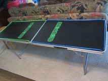 Glow Pong lighted Beer pong table approx 8' x 2' in El Paso, Texas