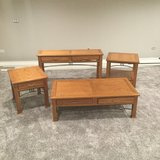 4 pc. Table Set -Solid Wood in Joliet, Illinois