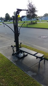 Bowflex power pro xtl w/ lad attachment in Cherry Point, North Carolina