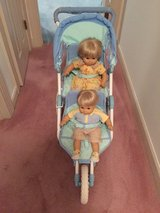 "American Girl Bitty Baby Double Stroller For 15 and 18"" Dolls with Manual JUST REDUCED in Cherry Point, North Carolina"