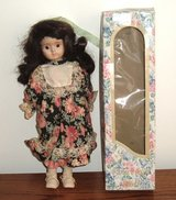 Vintage Porcelain Doll In Original Box in Morris, Illinois