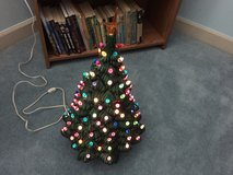 "Lighted Ceramic Christmas Tree; 23"" High in Cherry Point, North Carolina"