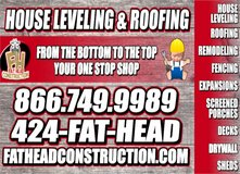 House leveling and Mobile Home leveling in Houston, Texas