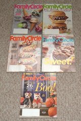 Family Circle Magazine Lot of 5 2016 June - Oct in Chicago, Illinois