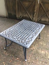 Great Escape Aluminum Patio Table, Black in Chicago, Illinois