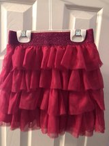 Girl's Ruffled Skirt Size Size Med (7/8) in The Woodlands, Texas