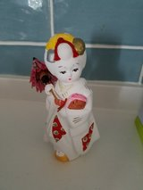 Small Japanese doll in Okinawa, Japan