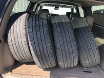 4 Michelin Latitude Tour HP tires 245 60R18 in Wilmington, North Carolina