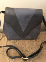 Nordstrom Grey Leather and Suede Handbag in Bolingbrook, Illinois