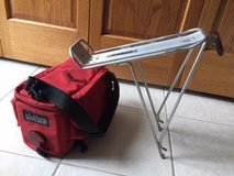 Aluminum Bike Rack and Insulated Detachable Bike Bag with Reflector in Orland Park, Illinois
