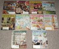 Country Living Magazine Lot of 10 (2 2008 4 2016 4 2017) in Plainfield, Illinois