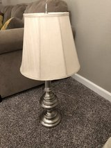 Satin Nickel Table Lamp and shade in Fairfield, California