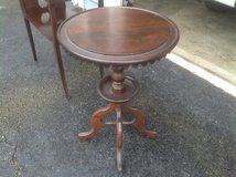 Antique Round Side Table in Chicago, Illinois