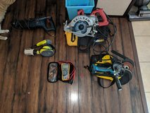 Various power tools, must sell in Fort Riley, Kansas