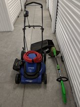 Corded Electric Lawnmower and Weeder in Cherry Point, North Carolina