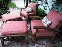 Teak Patio Furniture Set in Spring, Texas