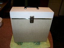 Vintage Record Case Fits Albums & 45rpm Singles - Also Good For Storage in Chicago, Illinois