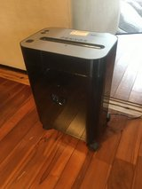 Paper shredder crosscut perfectly working in Okinawa, Japan