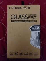 IPHONE 5 TEMPERED GLASS PROTECTOR in Clarksville, Tennessee