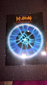 Def Leppard  Adrenalize Sheet Music Song Book 1992 in Ramstein, Germany