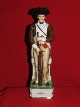 Vintage Grenadier 18th Continental Soldier Porcelain Decanter / Box in Plainfield, Illinois