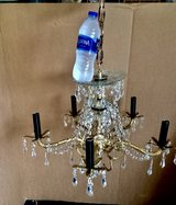 small, ANTIQUE, BRONZE, GOTHIC, SPAIN, CHANDELIER in Byron, Georgia
