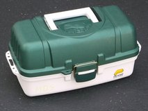 CLEAN Plano Tackle Box 3-Tray Fishing Systems model 6103 in Bartlett, Illinois