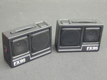 Kraco FX95 Portable Car Stereo Box Speakers - Patio Pool Etc. in Chicago, Illinois