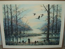 Geese Wilderness Lake Print Signed & Numbered in Chicago, Illinois