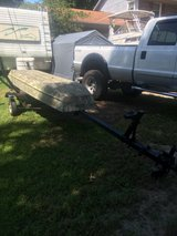 12' jon boat with or without trailer in Cherry Point, North Carolina