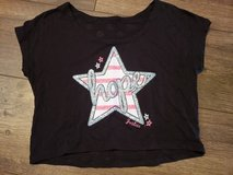 """Justice """"hope"""" crop shirt size 10 in Bolingbrook, Illinois"""