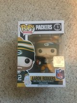New in Box!  Funko POP #43 Green Bay Packer Aaron Rodgers Wave 3 in Westmont, Illinois