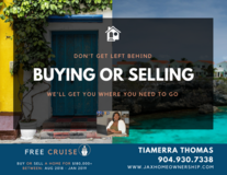 FREE CRUISE ... Sell or Buy a home with me between Aug 2018 - Jan 2019 in Jacksonville, Florida