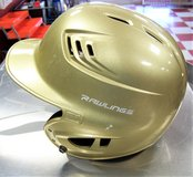 Gold Rawlings Batting Helmet in Leesville, Louisiana