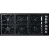 "Dacor Distinctive DTCT466GB/LP/H gas Cooktop - 46"" - Black (S10638FEEEE) in Hopkinsville, Kentucky"