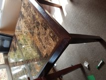 Table w extended leaf 5 chairs in Fairfield, California