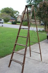 Wooden Ladder (price reduced) in Fort Campbell, Kentucky
