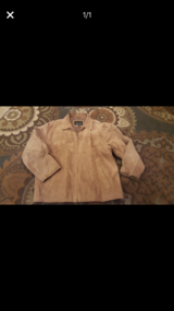 Men's size Large suede jacket in Chicago, Illinois