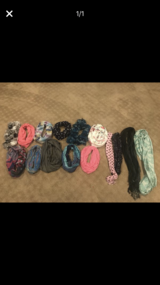 Lot of women's fashion scarves in Chicago, Illinois