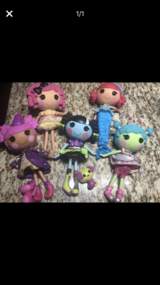 """5 Lalaloopsy 13"""" Dolls in Chicago, Illinois"""
