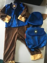 3-4T Paw Patrol Chase costume! in Plainfield, Illinois
