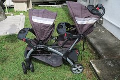 double stroller ( phone only ) in Okinawa, Japan